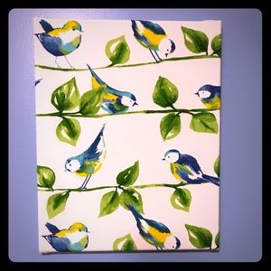 Birds on Canvas Wall Art